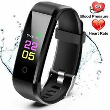 Fitness Trackers-Activity Watch, Heart Rate Blood Pressure Monitor,Waterproof
