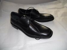 BLACK Gordon Rush Collection MEN'S FORMAL LEATHER SHOES Sz 11M Made in Italy