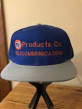 Vintage Trucker Hat. Unocal 76. Telecommunications. Snapback. Taiwan Made