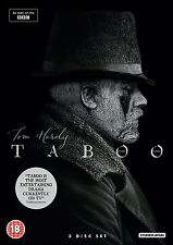 TABOO: Season 1 * Brand New & Sealed * Region 2 UK * Tom Hardy * Free Postage