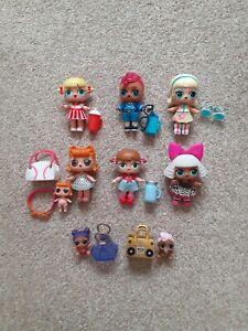 X9 LOL Surprise Dolls Big Lil Sisters Bundle Job Lot