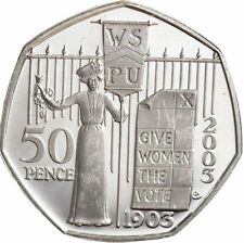 2003 Suffragettes Silver Proof 50p