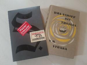 Buch S. Das Schiff des Theseus V. M. Straka J. J. Abrams Doug Dorst Muster rar