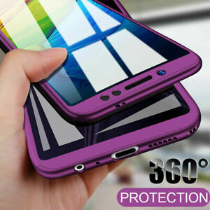 For Samsung S21Ultra S20 FE A72 A52 A51 A71 360° Full Body Case Protective Cover