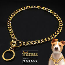Choke Dog Collars Training Slip Chain Collar for Pitbull Bulldog German shepherd