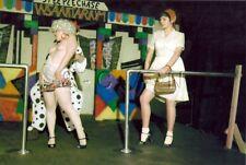 Org Amateur Semi Nude Large (10.25 x 7) Photo- Clown- Funhouse- Skirt- Panties 4