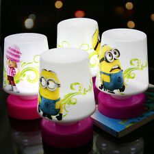 Despicable Me Minions Light LED Lamp Cute Child Kid Toddler Baby  Changing 1pcs