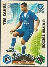 TOPPS MATCH ATTAX 2009-10-EVERTON-LIMITED EDITION-TIM CAHILL-SILVER FOIL