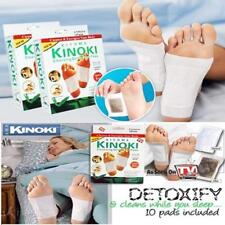 Kinoki Detox Foot & Body Patches Pads Toxins Feet Slimming Cleansing Herbal UK