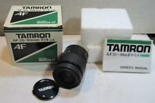 Tamron AF 35-90mm F/4-5.6 63D Lens Tele-Macro For Minolta w Box & Instructions