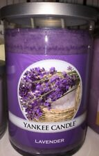 Yankee Candle New Lg LAVENDER 20 OZ TUMBLER 2-wick Great Fresh Scent