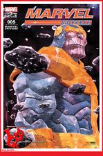 MARVEL UNIVERSE 5 05 Mai 2018 THANOS Gardiens Panini Marvel comics Now # NEUF #