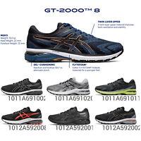 Asics GT 2000 8 2E / D Wide Overpronation Men Women Road Running Shoe Gel Pick 1
