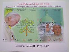 Stadspost Lelystad - Velletje Paus, Pope, Papst Johannes Paulus II 1920-2005