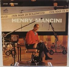 "Henry Mancini Our Man in Hollywood 12"" 33 RPM LP Jazz TV VG+ 1963 Big Band/Swing"