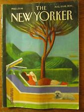 The New Yorker Magazine Aug August 11 & 18 2014, Putin, Murdoch, Nina Simone