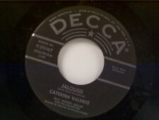 "CATERINA VALENTE ""JALOUSIE / THE BREEZE AND I"" 45"