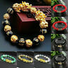 Feng Shui Black Obsidian Alloy Wealth Bracelet Original Quality Hot