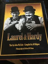 Laurel and Hardy by John McCabe 1975 Hardcover - FIRST EDITION