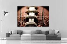 SUPER BOWL FOOTBALL AMERICAIN MACRO SPORT CLASSIC  Poster Grand format A0