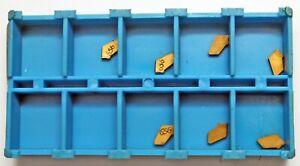 7 Stück Wendeschneidplatten Wendeplatten Stechplatten ISCAR GFL 1.6 15D IC656