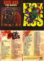 Kick-Ass Trading Cards ~ COMPLETE 100-CARD BASE SET
