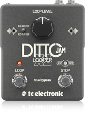 TC Electronic Ditto Jam X2 Looper Guitar Loop Effects Pedal!!