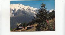 BF25586 le mont blanc les alpes en couleurs naturalles  france  front/back image