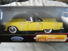 Road Signature 1955 Ford Thunderbird New 1:18 Diecast