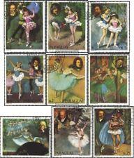 Paraguay 3291-3299 (edición completa) usado 1980 Músicos y Escenas de ballet