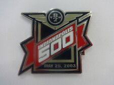 2003 87th Indianapolis 500 Event Collector Lapel Pin Indy 500 IndyCar