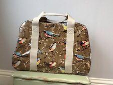 BNWT Cath Kidston Large Garden Birds Oil Cloth Weekend Bag/Holdall, Tagged