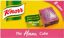 KNORR HAM STOCK CUBES 3 X 8 PACK