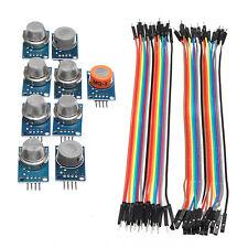 Sensor Kits for Arduino MQ2 MQ3 MQ4 MQ5 MQ6 MQ7 MQ8 MQ9 MQ135 with Case Kit DIY