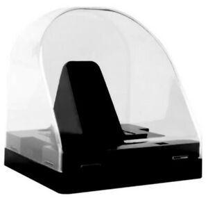 Inglasco Dome Hockey Puck Display Case with Black Base for Single Puck