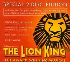 THE LION KING [2-DISC SPECIAL EDITION] [INCLUDES DVD] NEW DVD