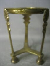 Vintage hand made brass holder