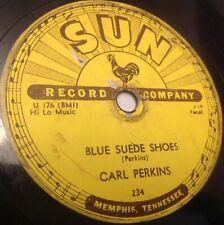 Carl Perkins on Sun 78 RPM Blue Suede Shoes/Honey, Don't- Sun 234
