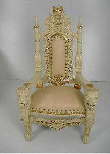 Kinderstuhl,Katzenstuhl,kleiner Stuhl,Königsstuhl,Goldblatt,Kinderthron
