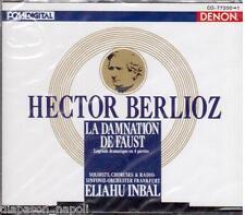 Berlioz: La Damnation de Faust / Eliahu Inbal, Ewing, Gulyas - CD Denon Japan