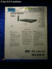 Sony Service Manual DVP ns305 ns310 ns315 ns405 ns410 ns415 (#5855)
