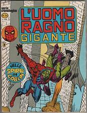 L' UOMO RAGNO GIGANTE  # 36   NELLE SPIRE DI GOBLIN  editoriale Corno 1979