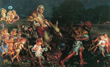Dream-art Oil paintingTriumph of the Innocents with children at night on canvas