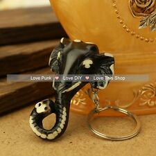 fashion 5pcs key chain Alchemy Gothic Lost Tribe Death pendant The elephant