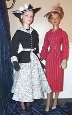 """""""LAUREN 22"""" SEWING  PATTERN  22"""" TONNER AMERICAN MODEL 1950's STYLE WITH HATS"""