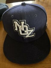 NEW ORLEANS ZEPHYRS Pacific League AAA SZ 7 3/4 FITTED BLUE CAP HAT DEFUNCT