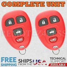 2 For 2005 2006 2007 2008 2009 2010 Chevy Cobalt 4b Keyless Entry Remote Red