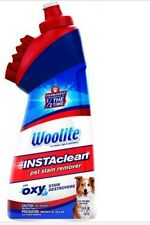 Woolite InstaClean Pet Stain Remover, 18 Fl Oz lot OF 6 OXY FOR CARPET RUGS