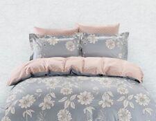 DM Siena 6 Piece Queen Size Duvet Cover Sheet Set Bed in Bag, Bedding