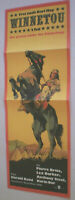Filmplakat , WINNETOU  2.Teil, Pierre Brice, Lex Barker , KARL MAY,DDR,Progress